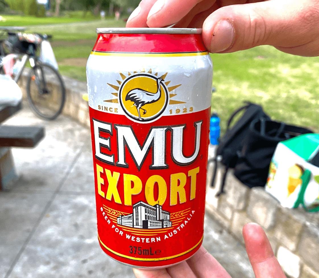 Image of Emu beer
