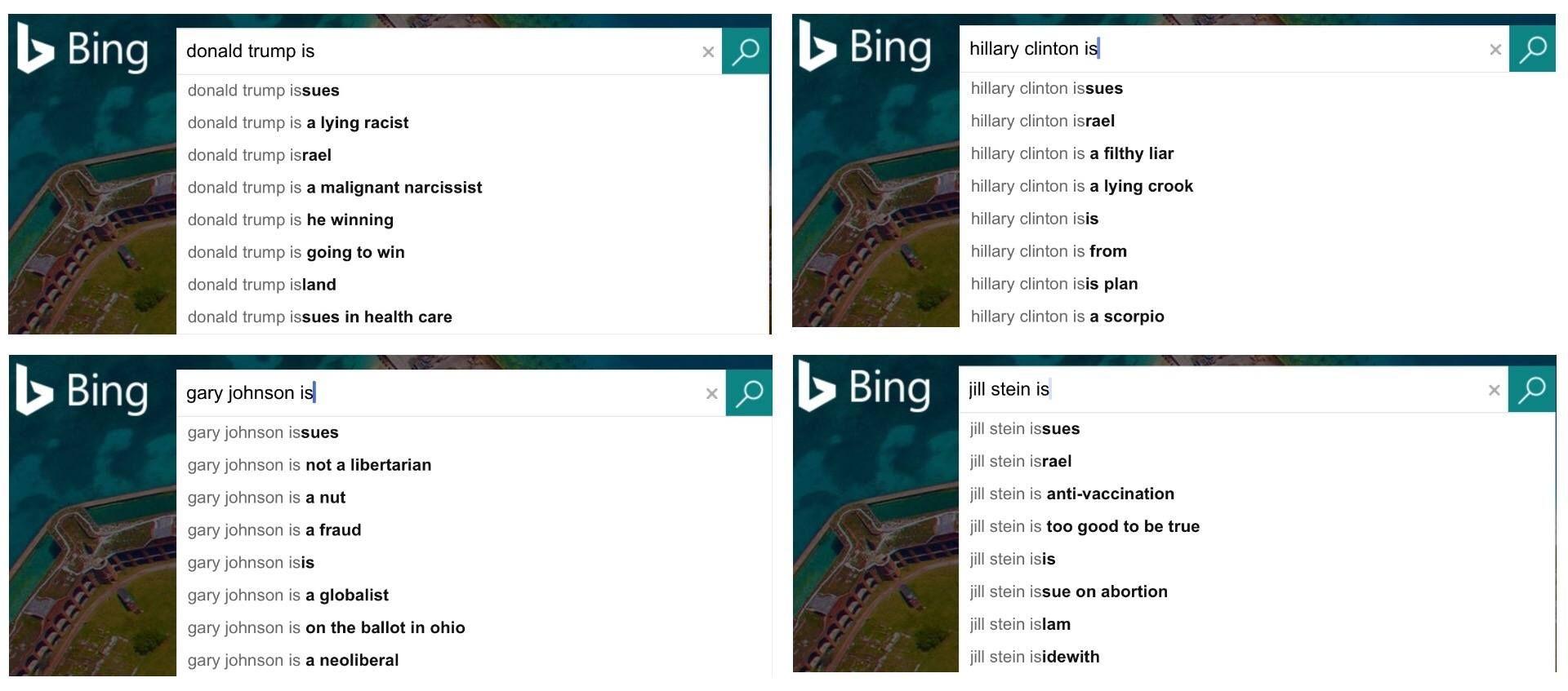 Bing Candidtates