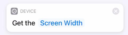 Get Screen Width