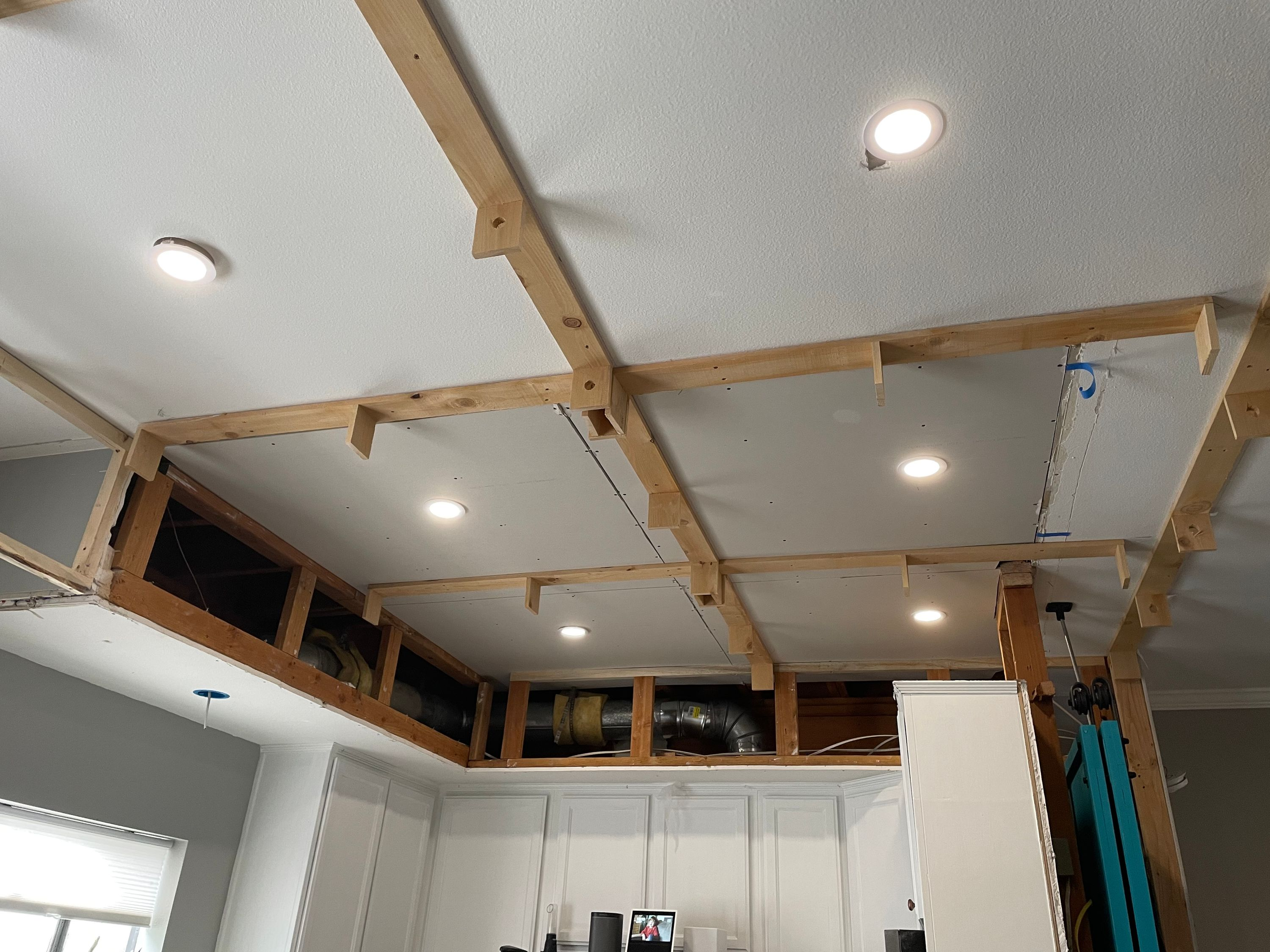 Framing for the Coffered Ceiling