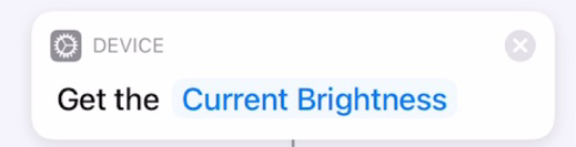Get Current Brightness