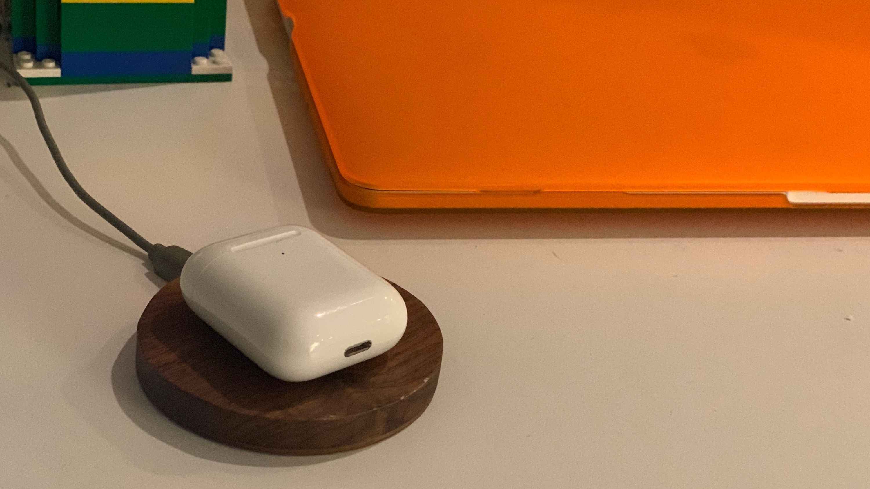 Airpods Charging Wirelessly