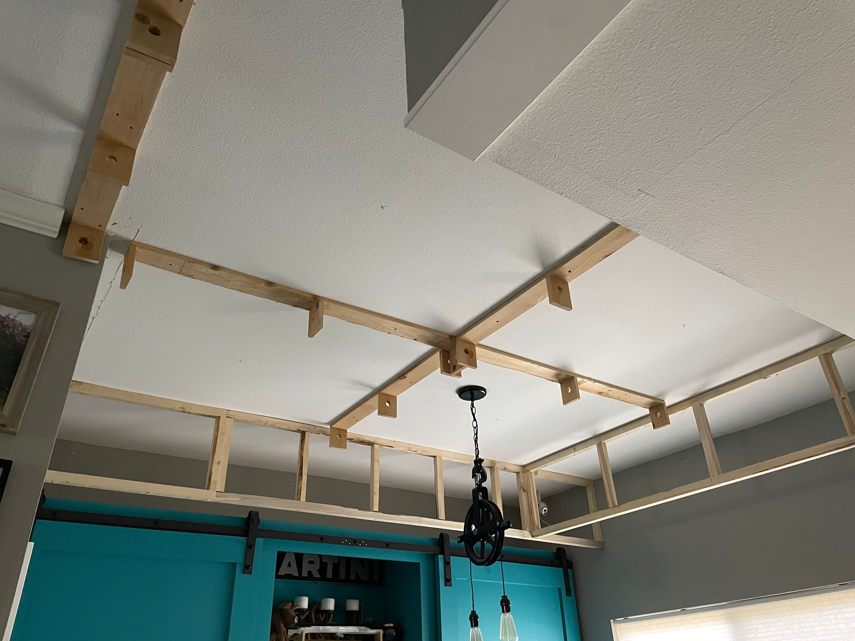 The Coffered Ceiling, Part 1