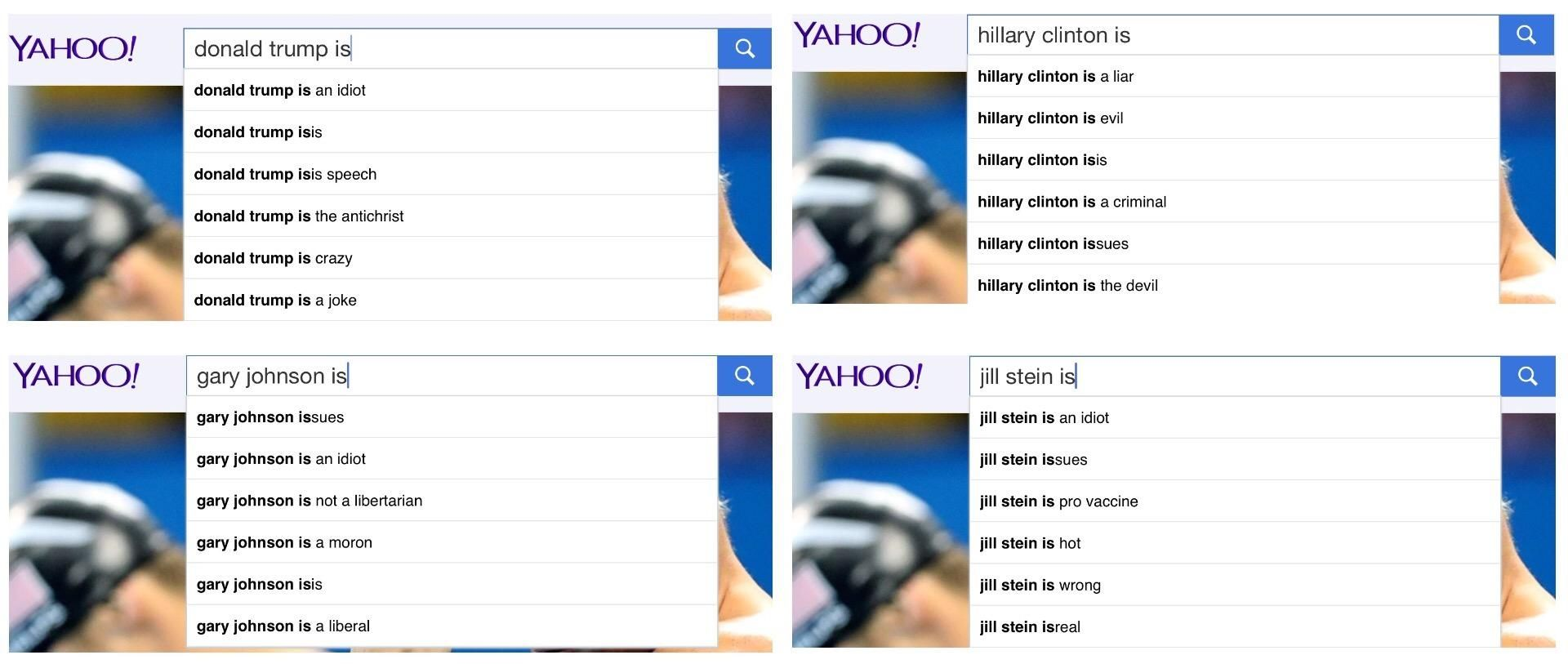 Yahoo Candidate Search