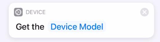 Get Device Model