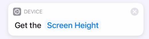 Get Screen Height
