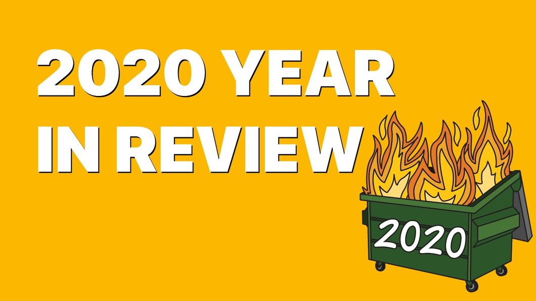 2020 Year In Review Banner Image