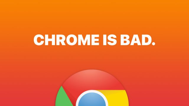 Chrome is Bad Banner Image