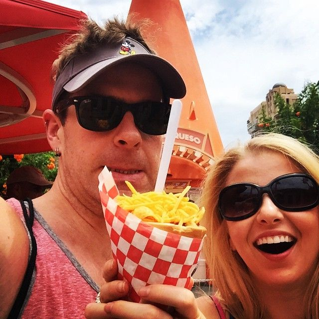 We may or may not be eating chili out of a cone Banner Image