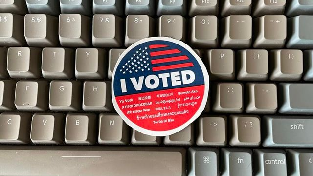 Vote. Banner Image