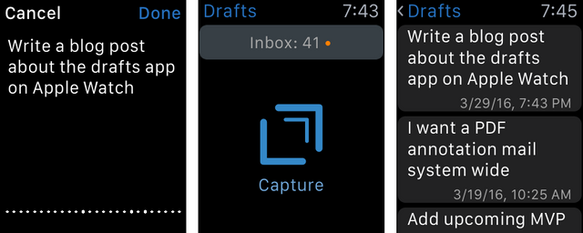 Draft Notes with Apple Watch Banner Image