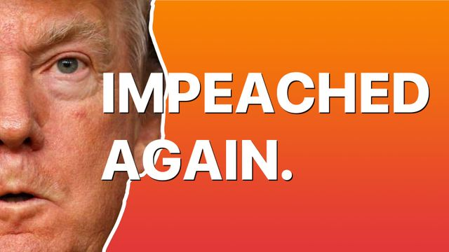 Impeached Again. Banner Image