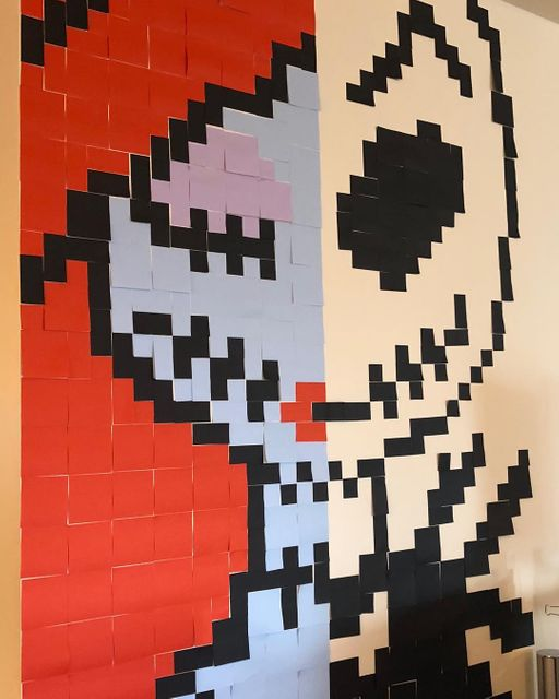 Post It PixelArt, Halloween Edition Banner Image