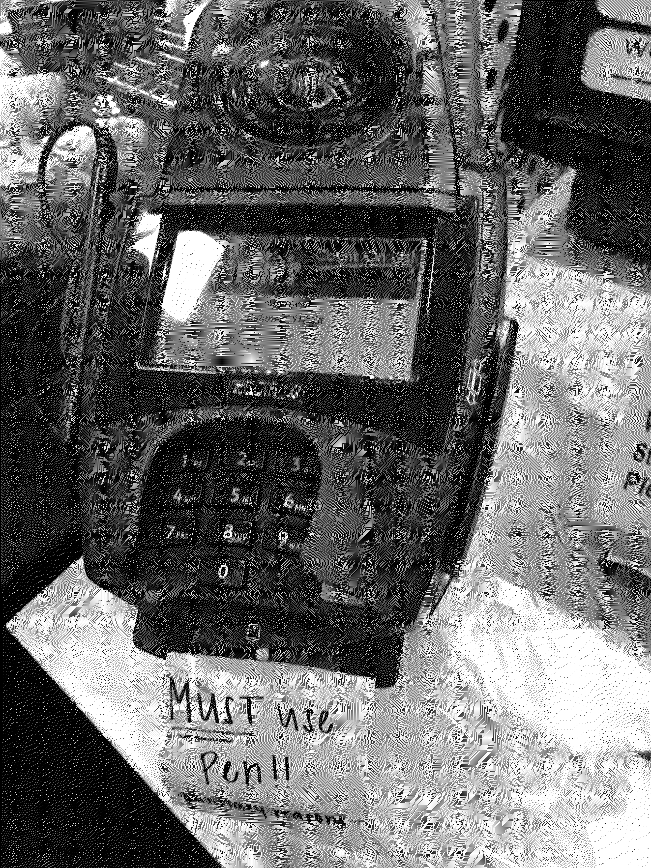The credit card machine at our local grocery store