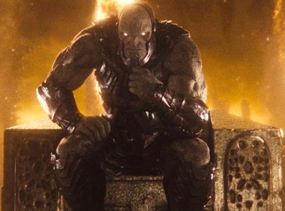 Darkseid being dictator (Zack Snyder's Justice League)