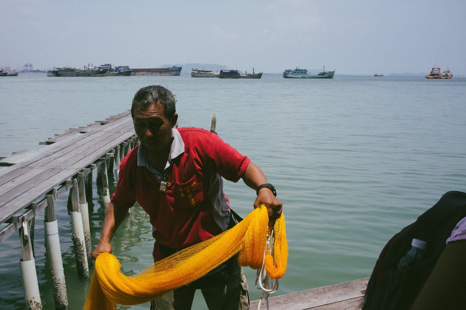 chew jetty fishing