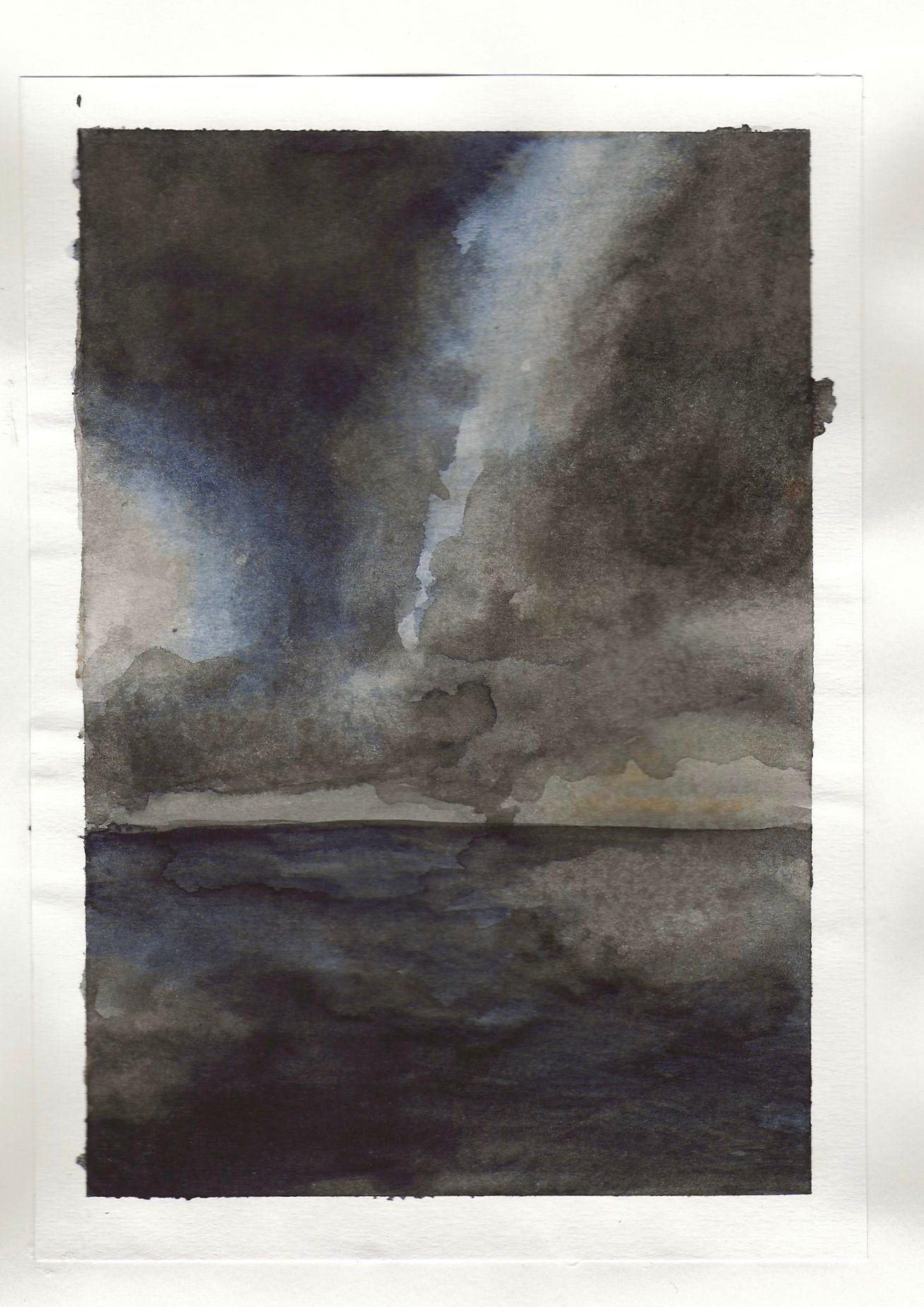 watercolour studies - sequence 1 - #3 - watercolour - 148 x 210mm - 200gsm 120lb