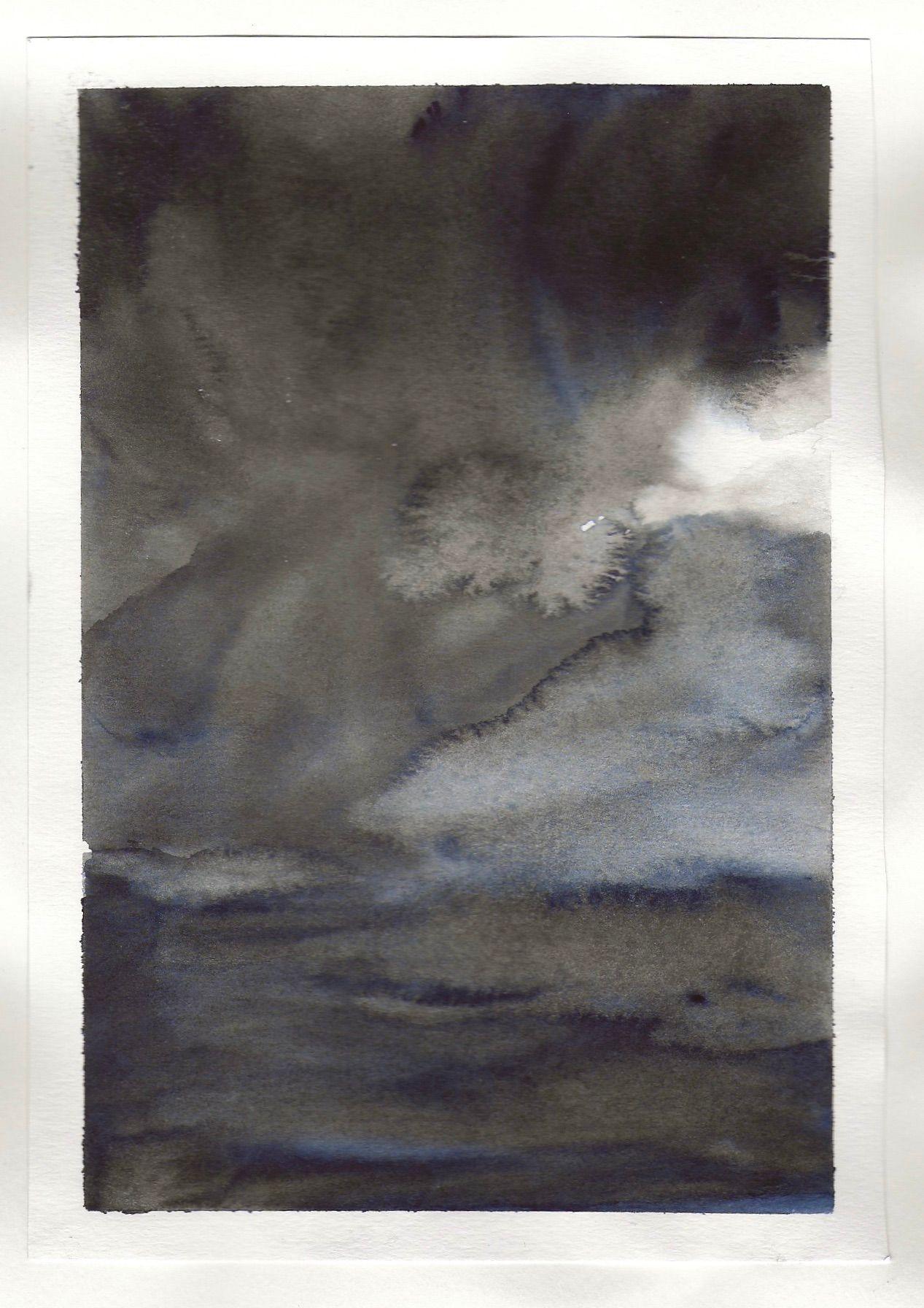 watercolour studies - sequence 1 - #5 - watercolour - 148 x 210mm - 200gsm 120lb