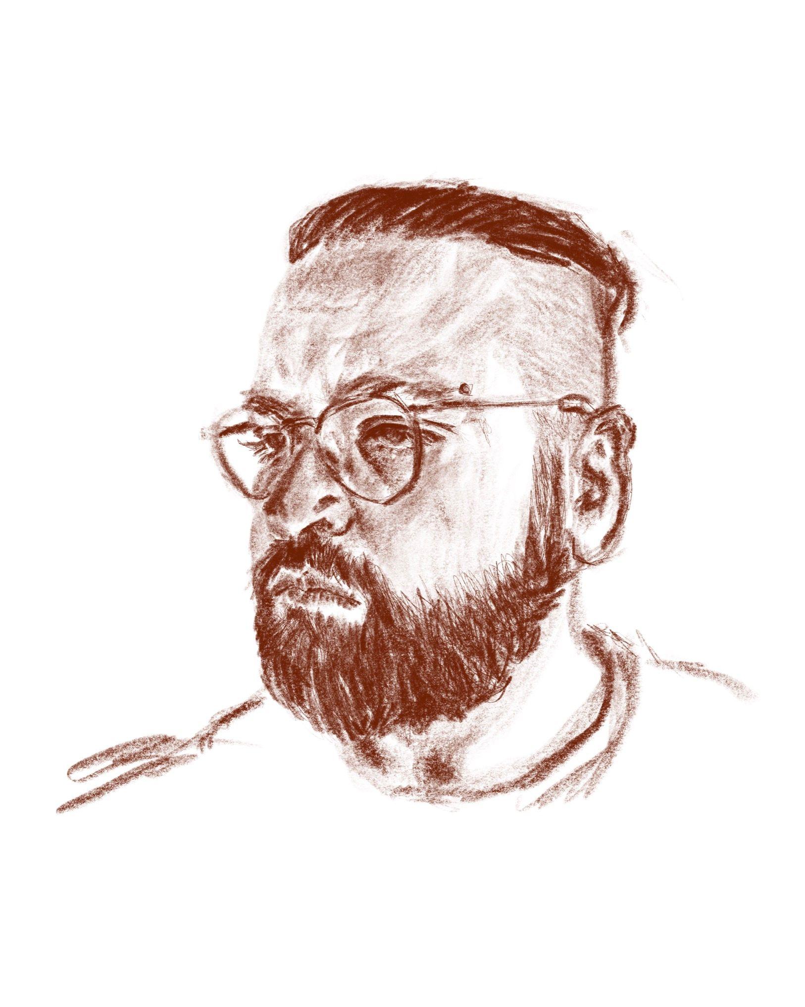 stu 2020 - digital pencil drawing