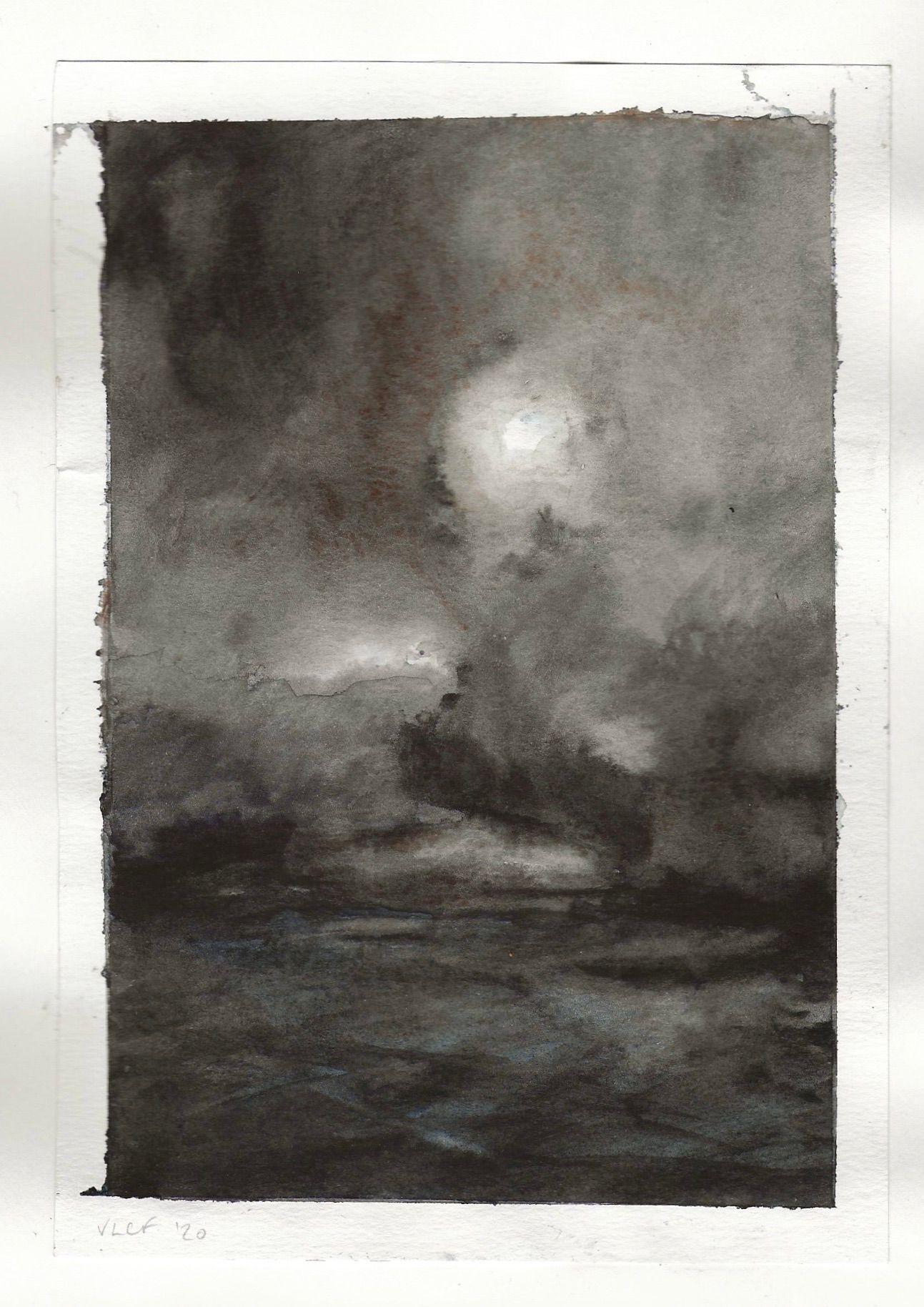 watercolour studies - #11 - watercolour - 148 x 210mm - 200gsm 120lb