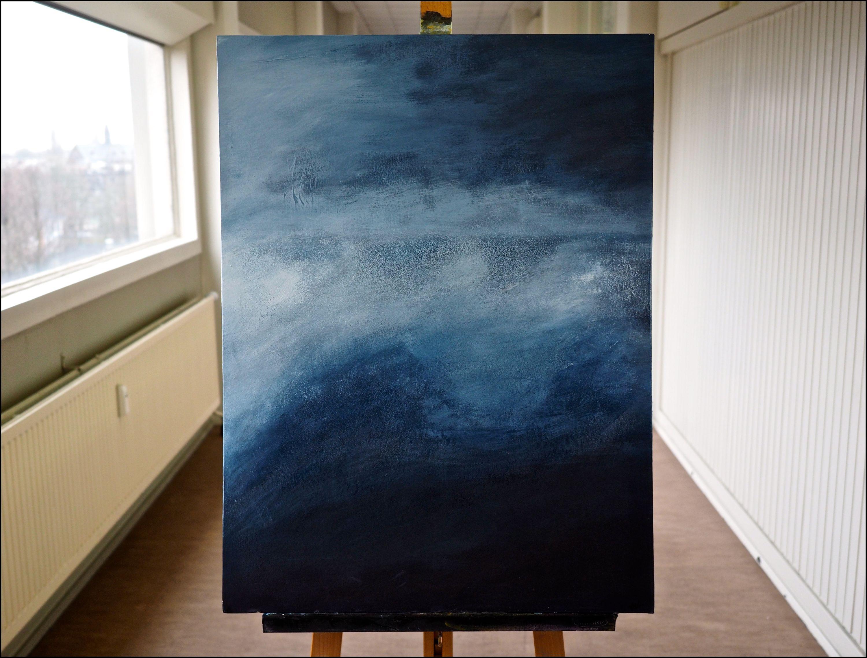 seascape 4 canvas board 2015