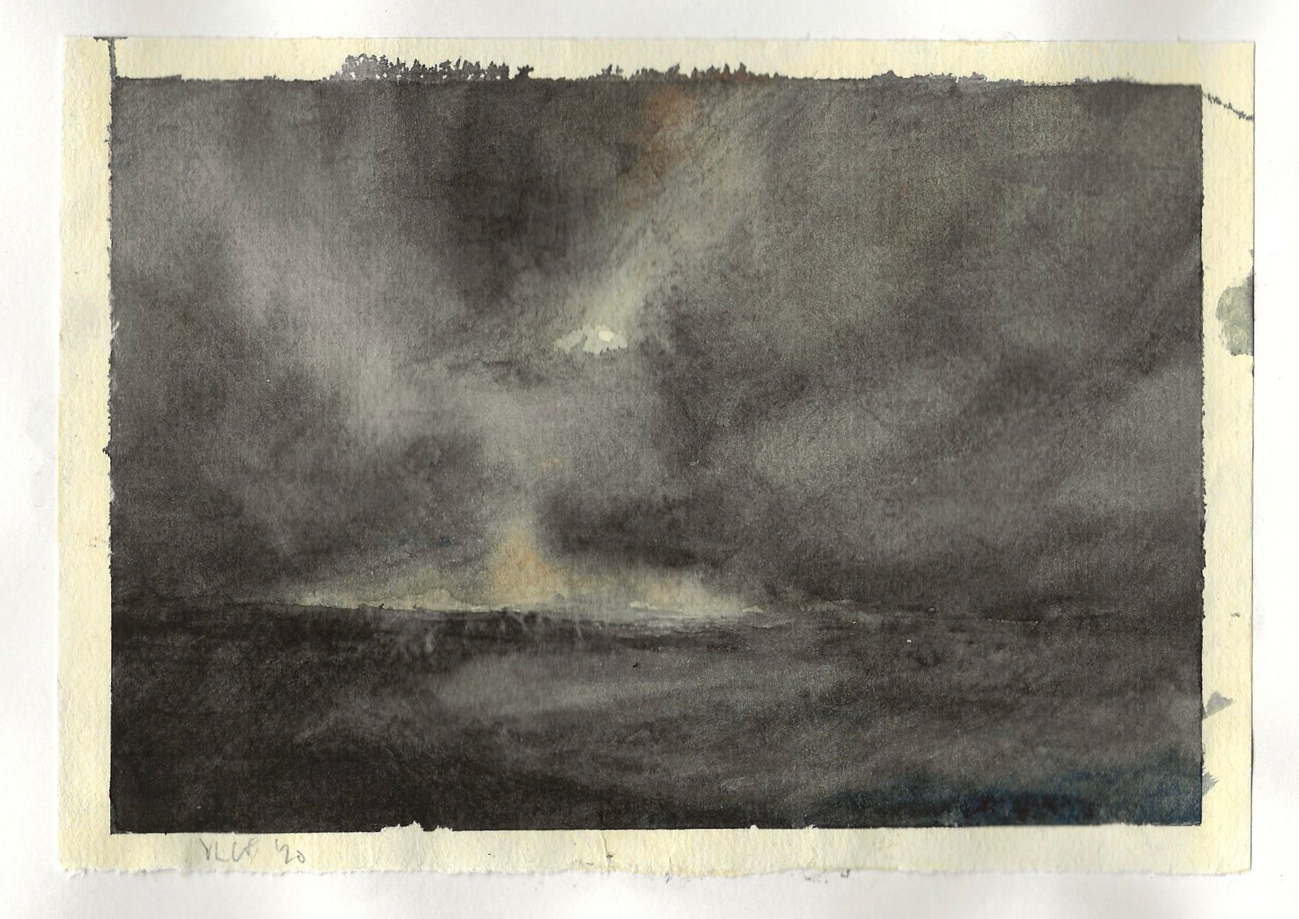 watercolour studies - #16 - watercolour - 210 x 148mm - 160gsm
