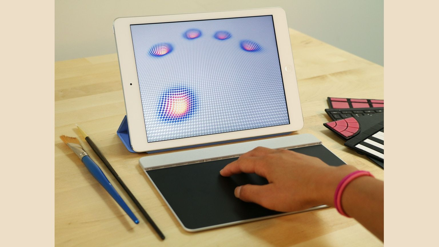 The first pressure-sensitive, multi-touch input device that enables users to interact with the digital world like never before.