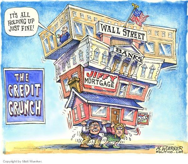 La crise des subprimes causée par Wall Street a plongé de nombreuses personnes dans la précarité.