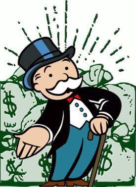 """""""La banque ne fait jamais faillite : elle peut mettre en circulation autant d'argent que nécessaire sous forme de reconnaissances de dettes écrites sur du papier ordinaire.� - source: les règles officielles du jeu Monopoly"""