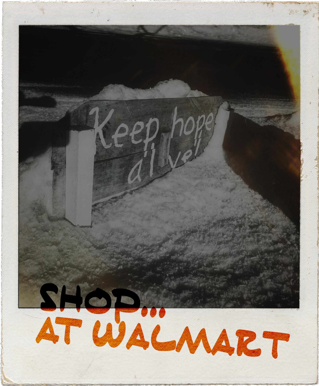 Shop until hope is dead. Then shop more.