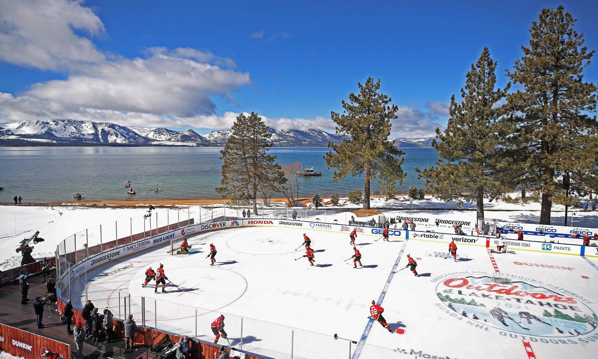 hockey at lake tahoe