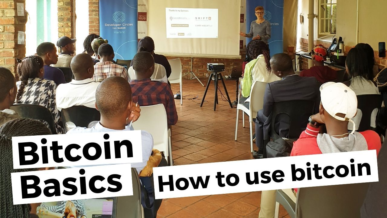 Bitcoin basics talk Anita Posch