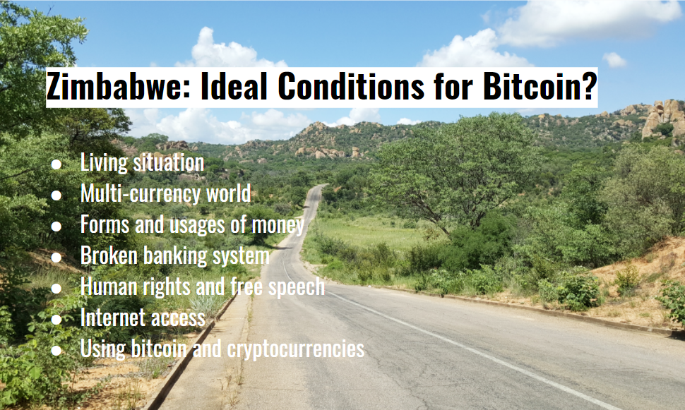 Zimbabwe - Conditions for Bitcoin