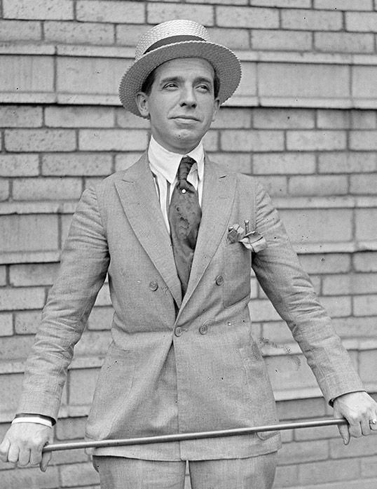 Charles Ponzi in 1920