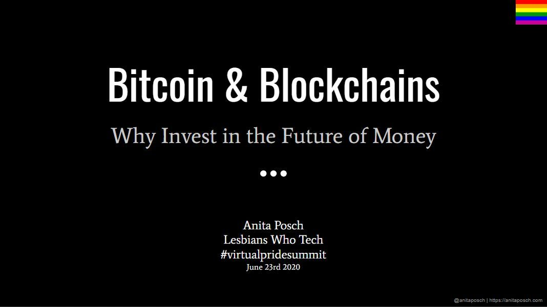 Why Invest in the Future of Money with Bitcoin Anita Posch