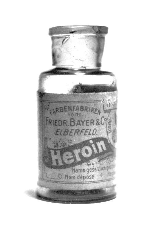 Heroin Flasche