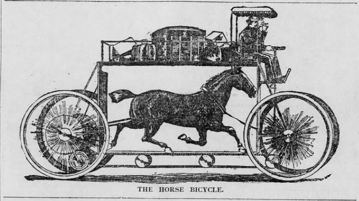 The Horse Bicycle