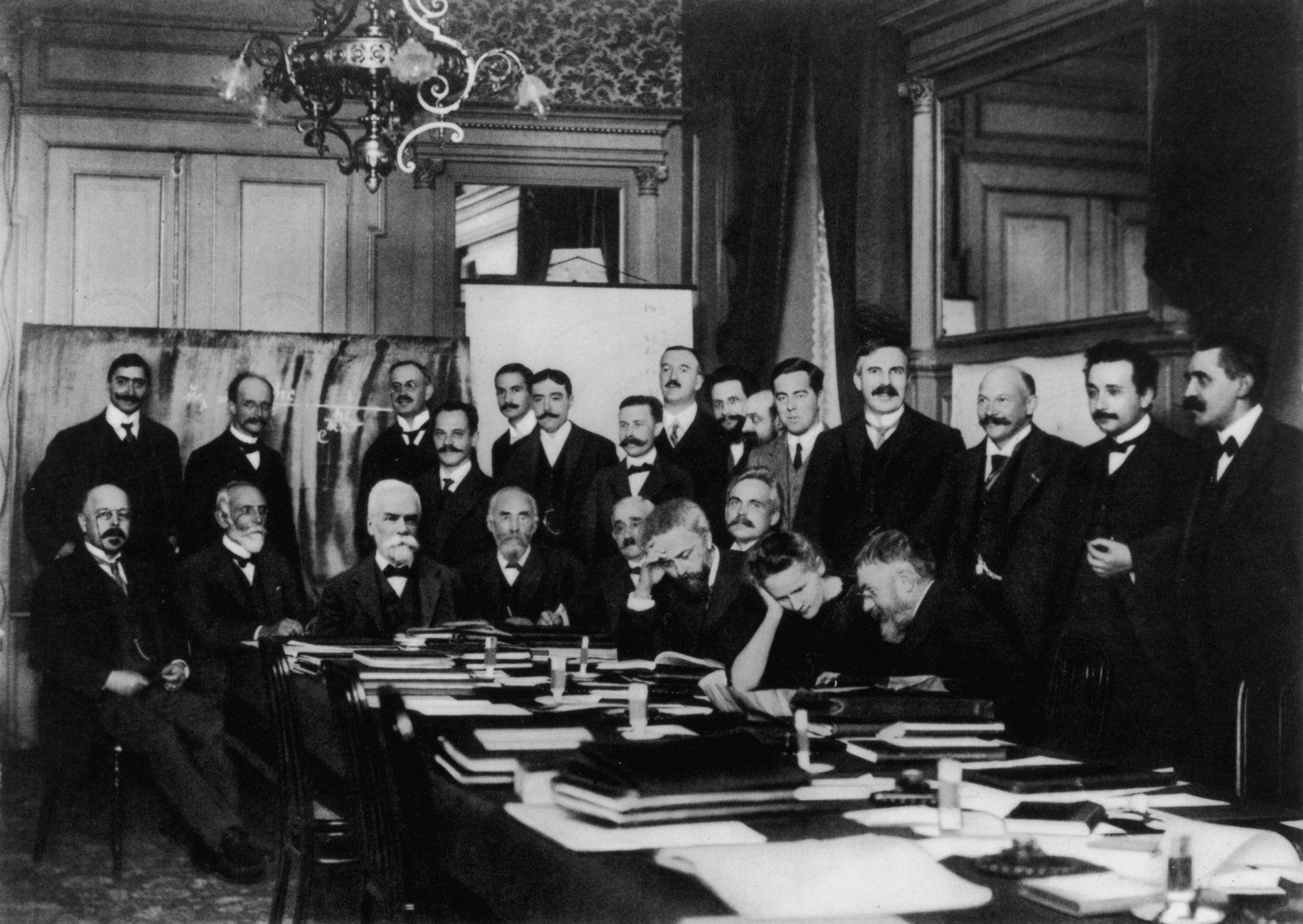 Teilnehmer der ersten Solvay-Konferenz (1911)