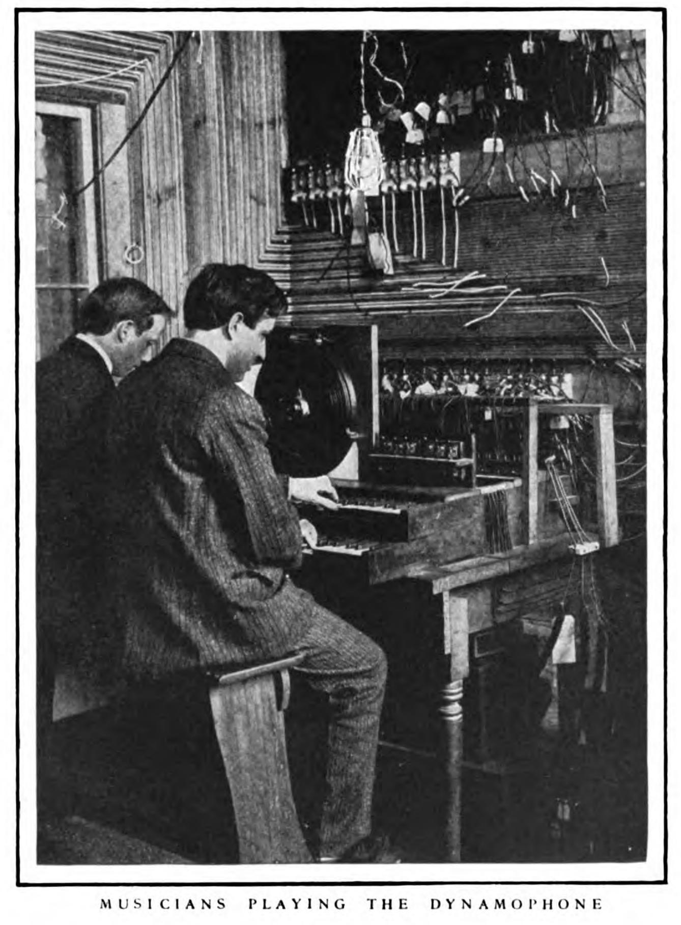Zwei Telharmonisten, McClure's magazine, Ausgabe 27, 1906