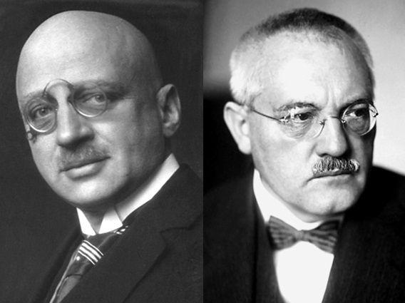 Fritz Haber und Carl Bosch