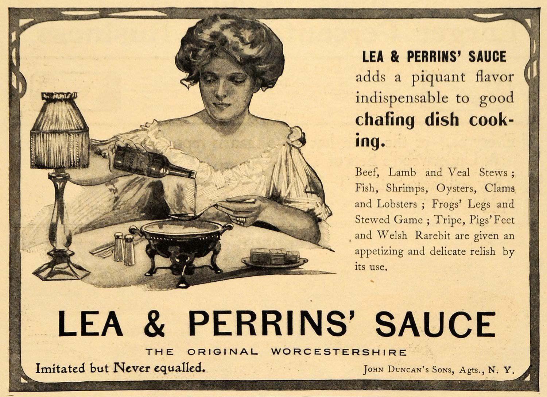 Lea&Perrins Werbung