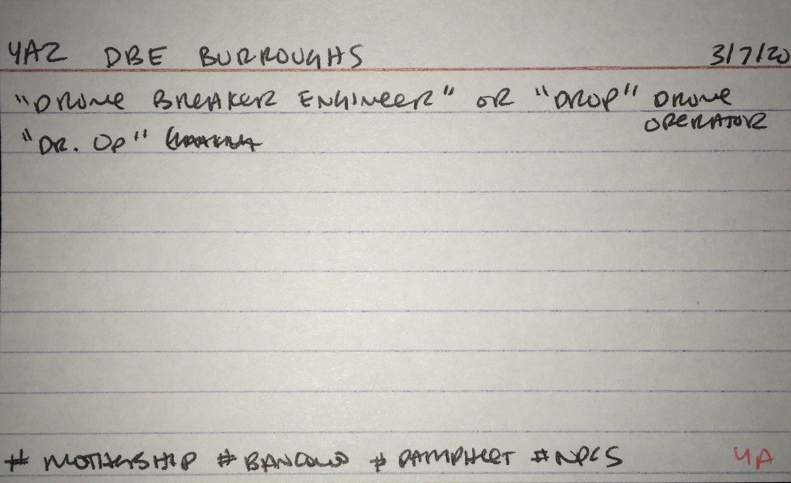 4a2 DBE Burroughs