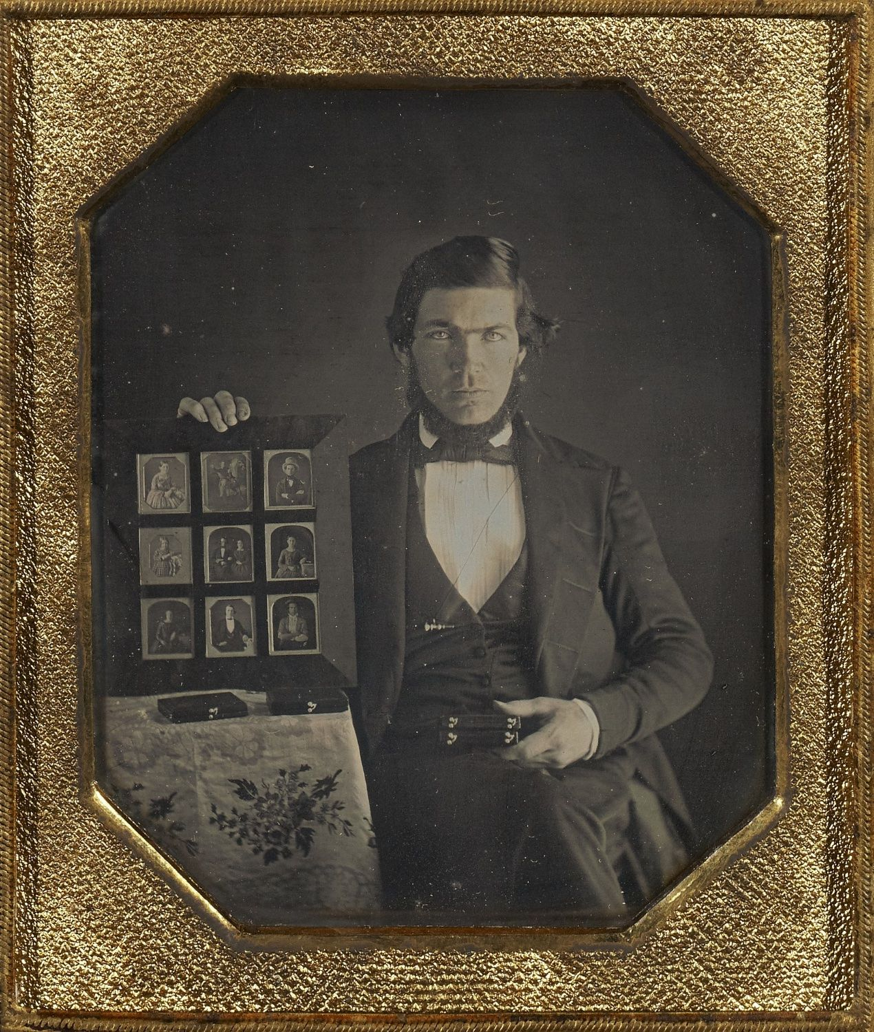 Portrait of a Daguerreotypist from 1845