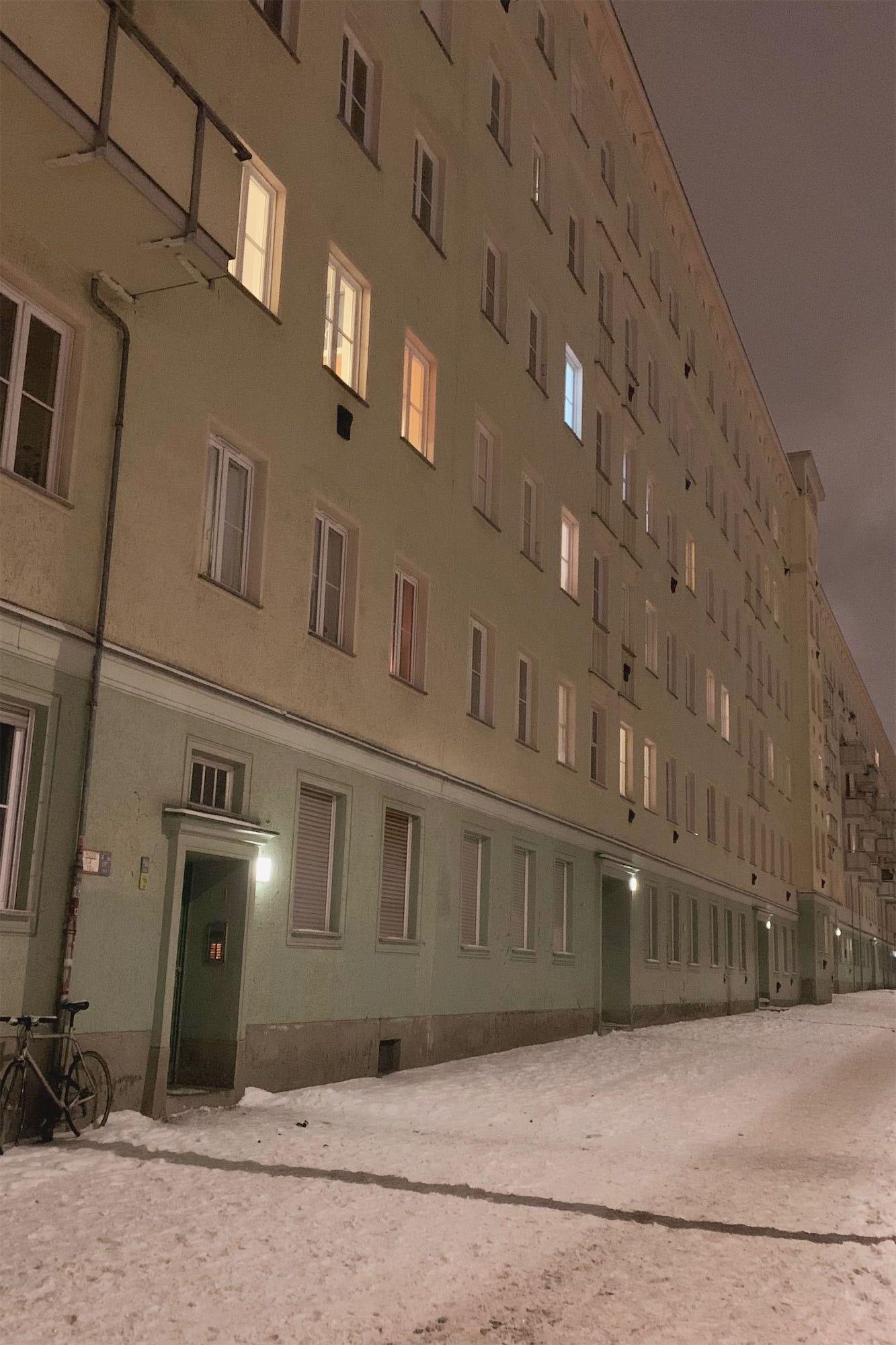 Berlin in February 2021