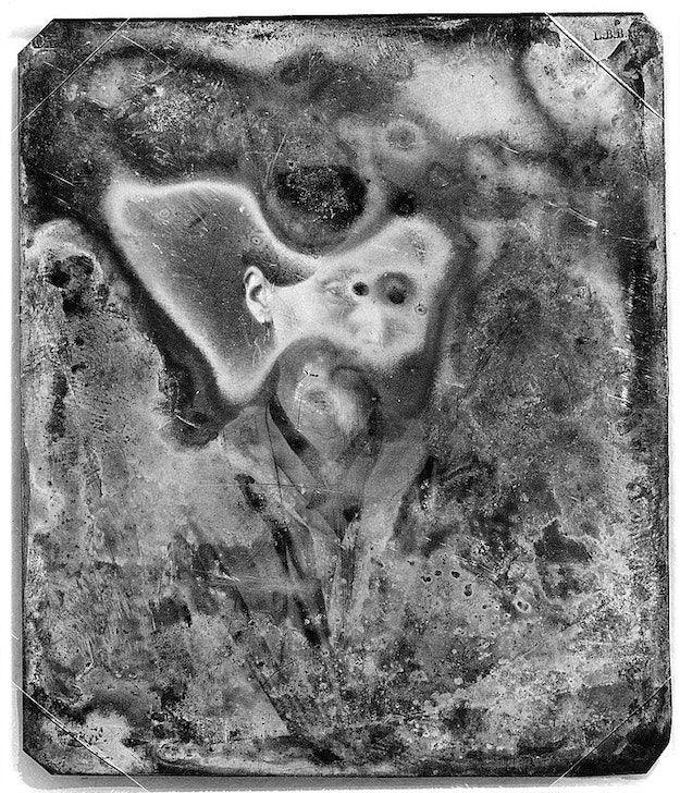 A faded Daguerrotype