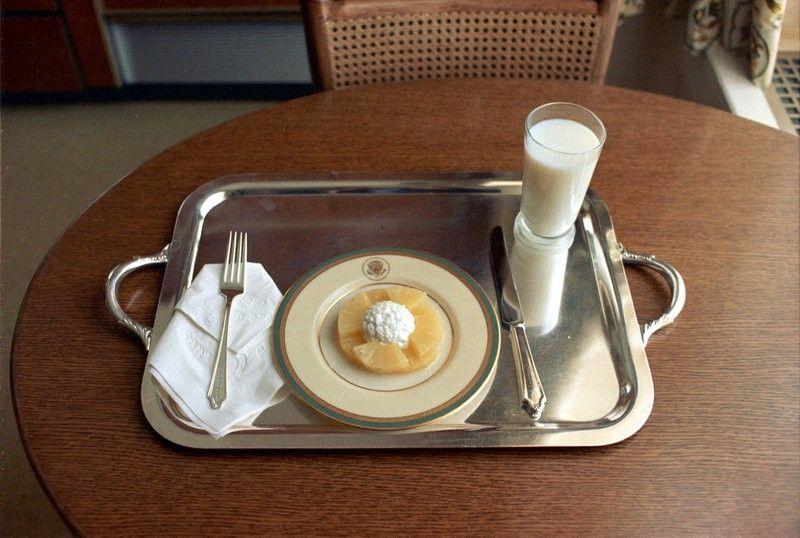 Nixon's last lunch