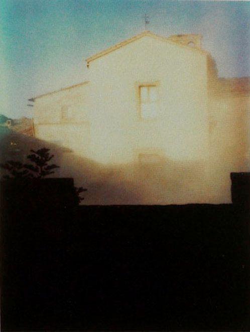 Andrei Tarkovsky, Instant Polaroid Light, 1977