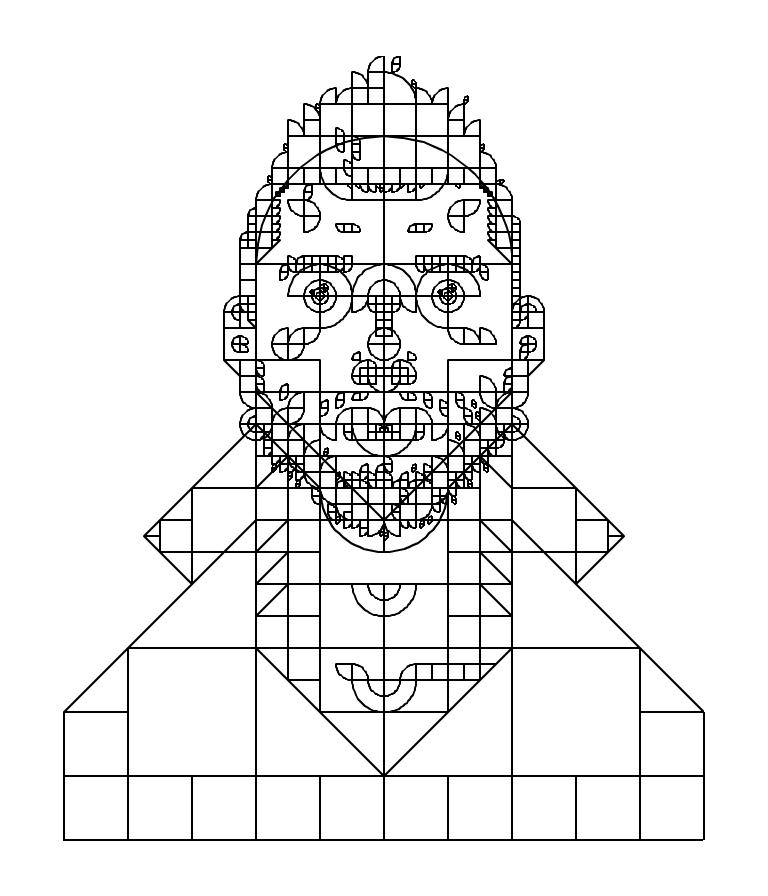 Self-portrait Wireframe