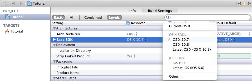 Setting up Cinder on Mac OS X