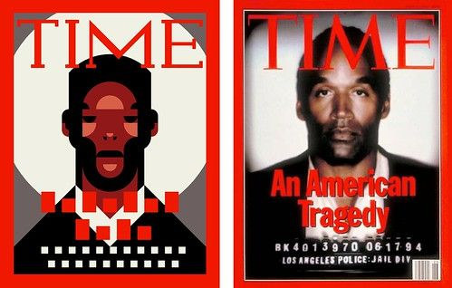 Side by Side - Iconic Magazine Cover #6 - An American Tragedy, Time 1994 by omarrr